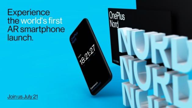 OnePlus Nord arriverà il 21 luglio e sarà presentato in realtà aumentata!