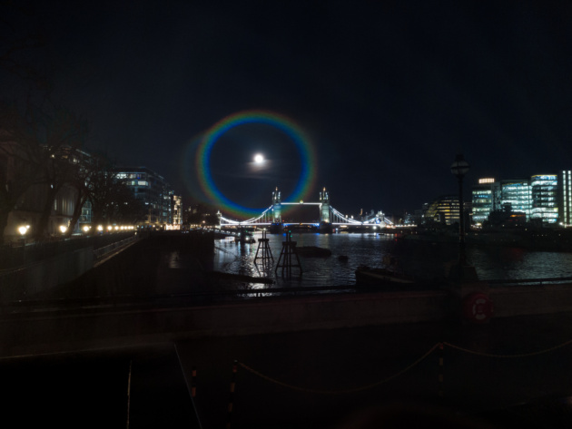 OnePlus: Moonbow fotografato con OnePlus 9 Series
