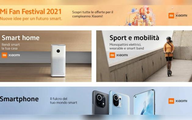 Xiaomi Mi Fan Festival: le migliori offerte Amazon e Ebay