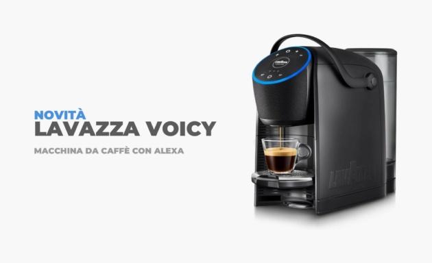 Alexa fammi il caffé: Arriva la macchinetta Lavazza con Alexa