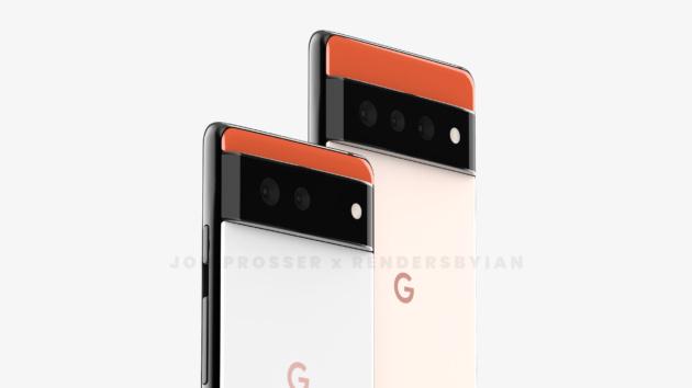 Pixel 6 e Pixel 6 Pro, dei render svelano un design mai visto prima