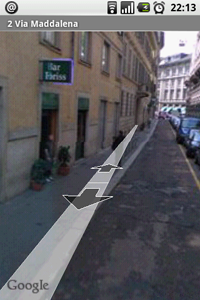 Android e Street View di Google Maps