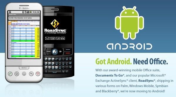 Android si avvicina alla clientela business con Documents to Go di Dataviz