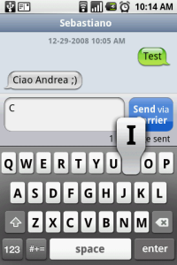 Leggere gli Sms in stile Iphone su Android