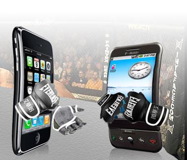 Le vendite di android e iphone nel quarto trimestre 2008