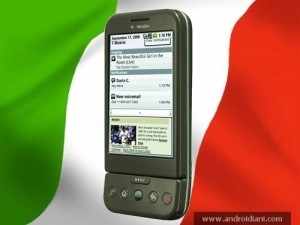 Android G1 in Italia