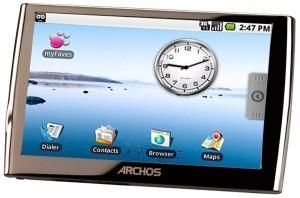 Archos sviluppa un tablet pc Android spesso un centimetro