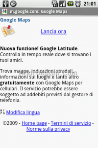 Google Latitude Approda su Android o No?