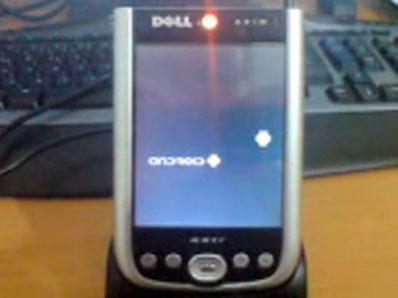 Android su Dell Axim X51v : AxDroid
