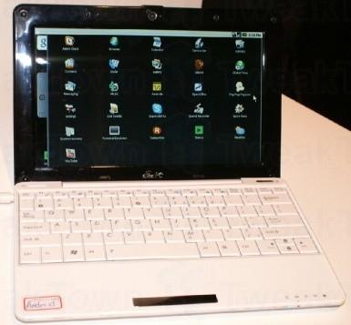 Android sul nuovo prototipo EEE PC