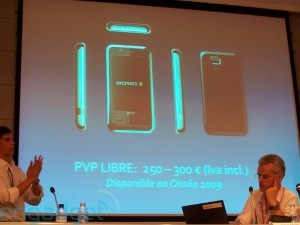 Geek's Phone One, l'Androide spagnolo...in autunno sarà fra noi!