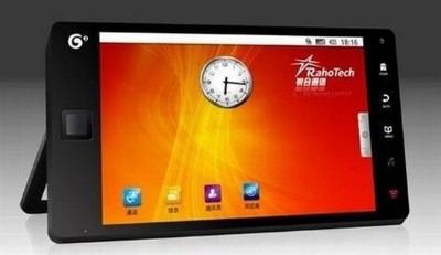 Android Camangi WebStation, un bellissimo tablet Pc Androidiano