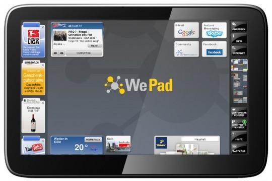 WePad a Luglio in Germania a 449€