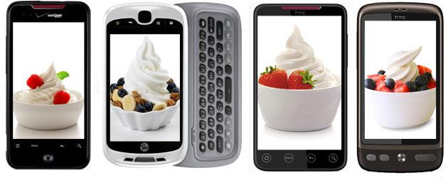 HTC: Se il vostro telefono è uscito nel 2010, riceverà molto probabilmente l'update a Froyo 2.2