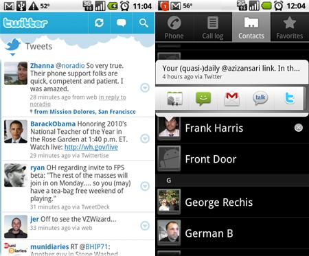 Twitter: rilasciata l'applicazione ufficiale per Android