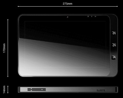 Evolve III Maestro: tablet con triplo-boot Android, MeeGo e Windows 7