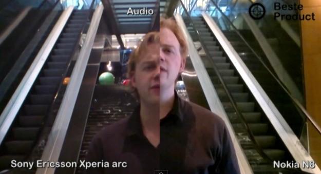 Comparazione video: Sony Ericsson Xperia ARC Vs. Nokia N8