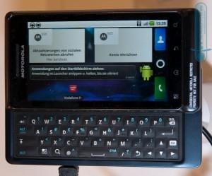 Recensione Motorola Milestone 2