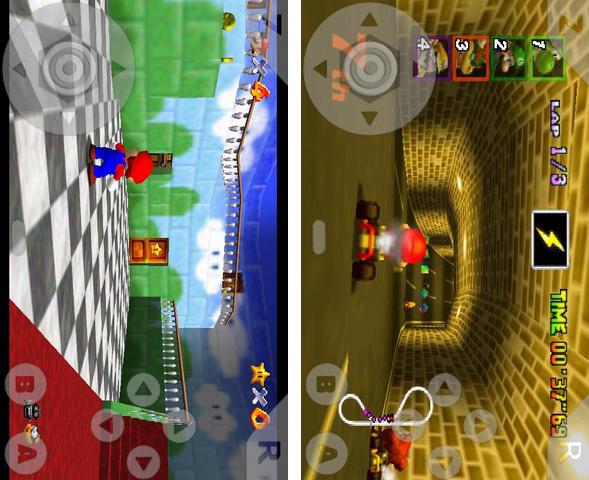 N64oid, emulatore Nintendo 64 per Android