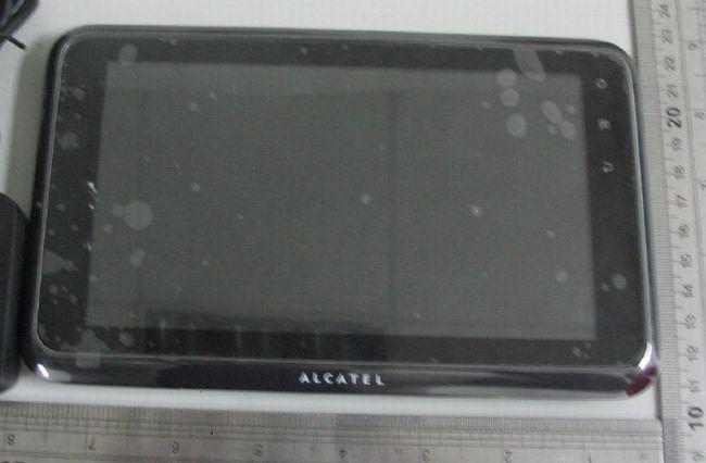 OneTouch T60, prime immagini del tablet Android di Alcatel