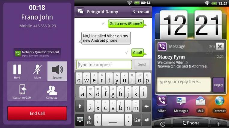 Viber - A breve sull'Android Market