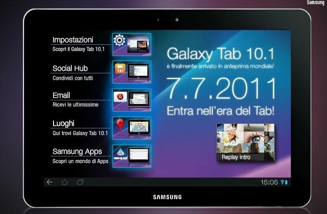 Vodafone : Continueremo a vendere il Samsung Galaxy tab 10.1