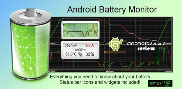 Battery Monitor Widget [ANDROIDIANI REVIEW]