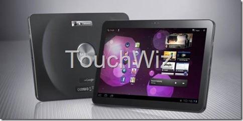 Samsung Galaxy Tab 10.1: al via l'aggiornamento con TouchWiz