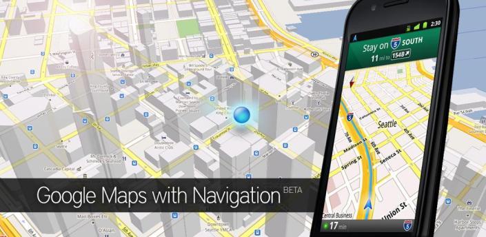 Google Maps: aggiornamento alla versione 5.10.1
