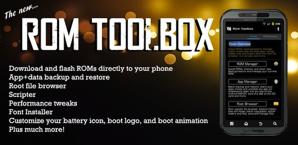 ROM Toolbox, il coltellino svizzero del modding!