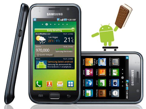 Samsung Galaxy S: si lavora sul porting di Ice Cream Sandwich
