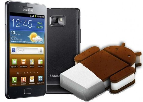 Samsung Galaxy S II: Android 4.0 Ice Cream Sandwich beta in arrivo?