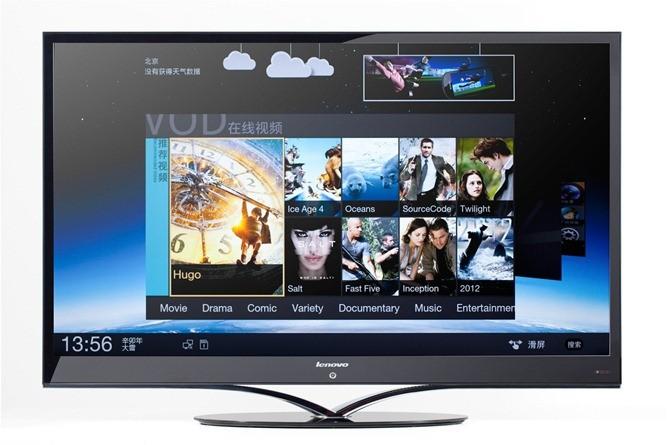 Lenovo K91: la prima Smart TV con Ice Cream Sandwich [CES 2012]