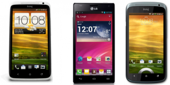 Sfida Display: LCD vs IPS vs AMOLED (HTC One X, LG Optimus 4X HD, HTC One S)
