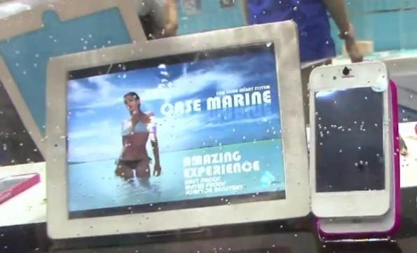 Arriva Case Marine, la pellicola da 0.25 mm che rende impermeabili gli smartphone