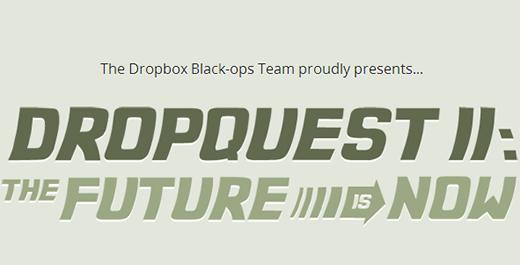 DropQuest II: vinci 100 GB di cloud storage grazie al contest di Dropbox