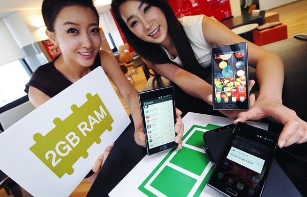 LG annuncia l'Optimus LTE 2, il primo smartphone con 2 GB di RAM