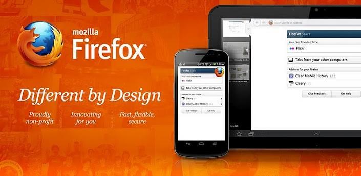 Mozilla Firefox 23 è ora disponibile sul Play Store