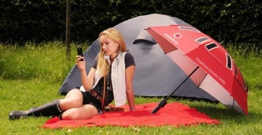 Booster Brolly: l'ombrello di Vodafone che aiuta i nostri dispositivi