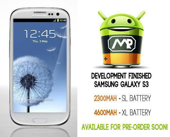 Presto disponibili le batterie supplementari Mugen per Galaxy S III da 2300 e 4600 mAh