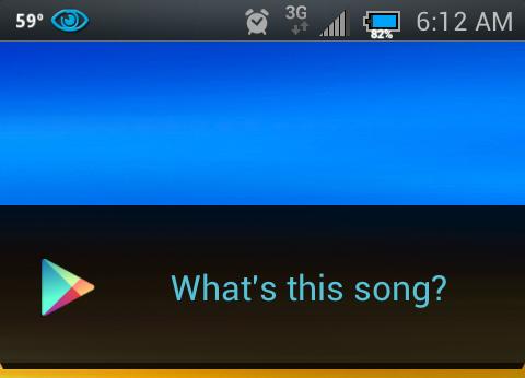 Google Ears: riconoscimento di canzoni in Jelly Bean