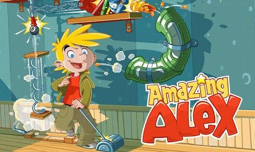 Disponibile sul Play Store il nuovo gioco di Rovio, Amazing Alex