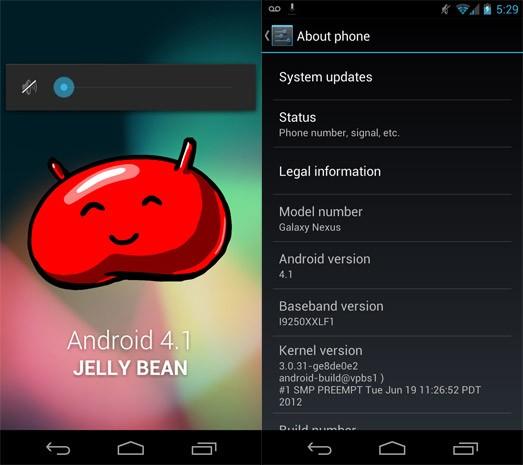 Iniziato ufficialmente il roll-out di Jelly Bean per i Galaxy Nexus HSPA+ [UPDATE]