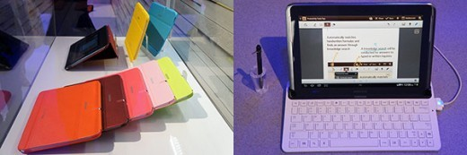 Samsung: ecco i primi accessori ufficiali per il Galaxy Note 10.1