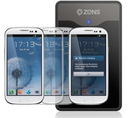 A settembre ZENS commercializzerà il Wireless Charging Kit per il Galaxy S3