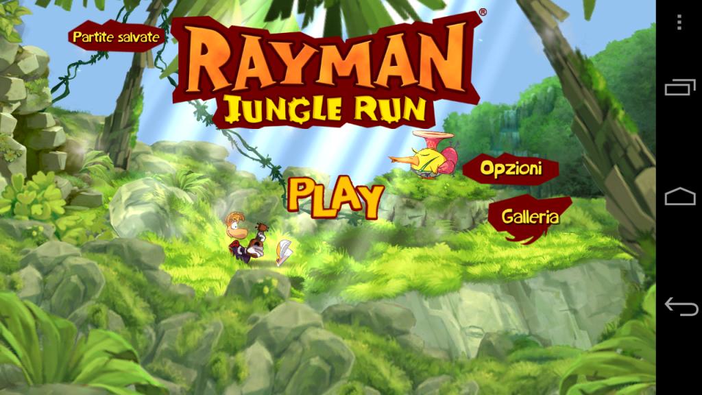 [Recensione]Rayman: Jungle Run