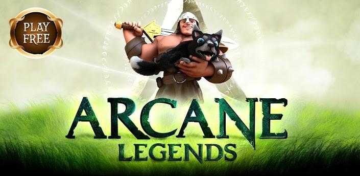 Arcane Legends: pubblicato sul Play Store il nuovo MMORPG di Spacetime Studios