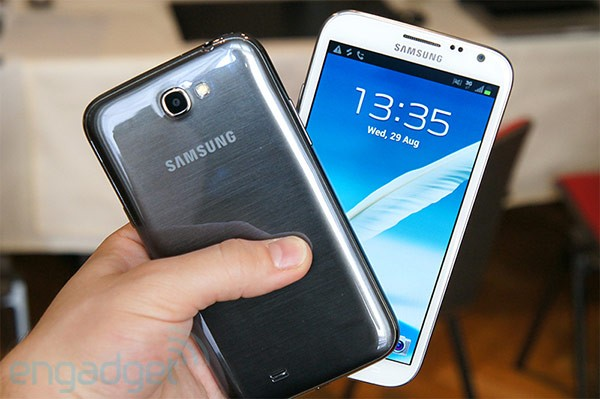 Samsung Galaxy Note 2: vendute più di 5 milioni di unità