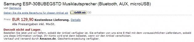 Samsung: la nuova docking station audio in pre-ordine su Amazon a 130€