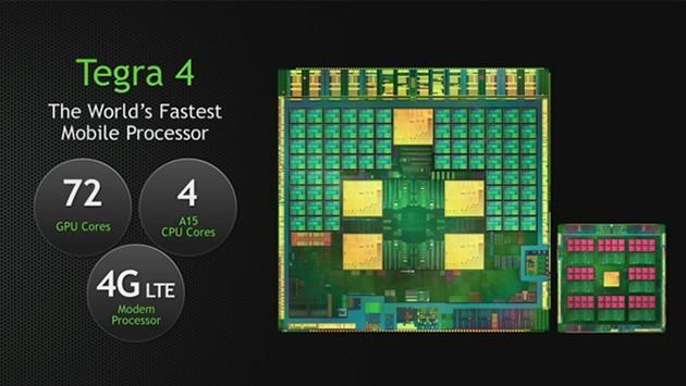 Nvidia presenta ufficialmente Tegra4: CPU quad-core A15 e GPU a 72 core